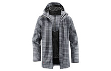 Vaude Men?s Cranebrook 3in1 Jacket steelgrey